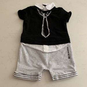 Karl Lagerfeld Designer baby boy one Piece